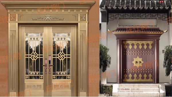 铜门——坚固与美观并存