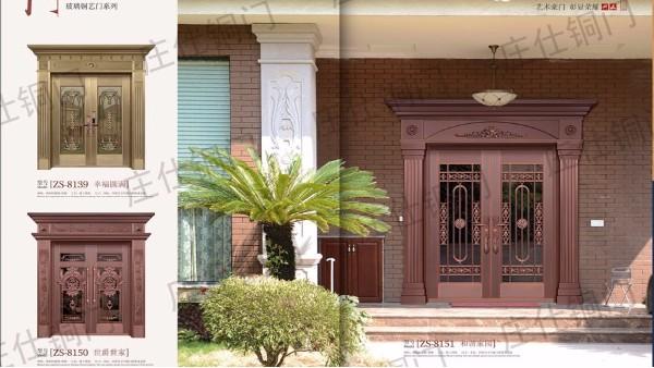 别墅铜门多少钱一平方?