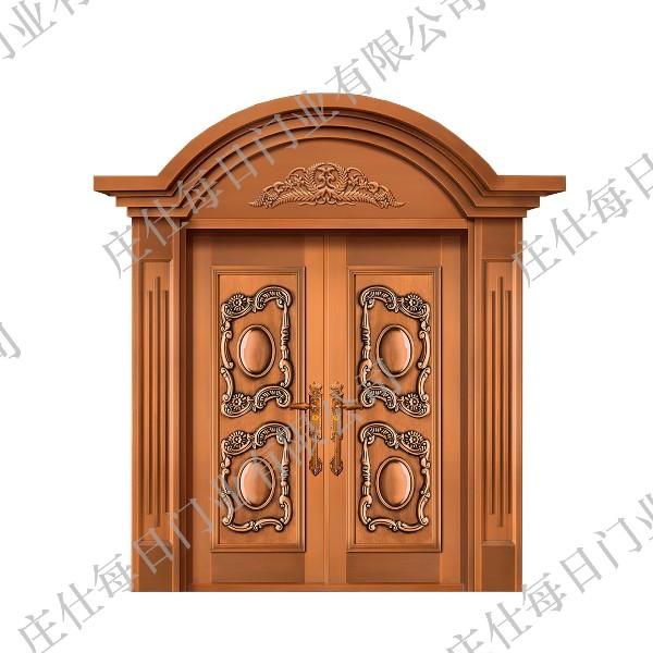 双开铜门-ZS-8011