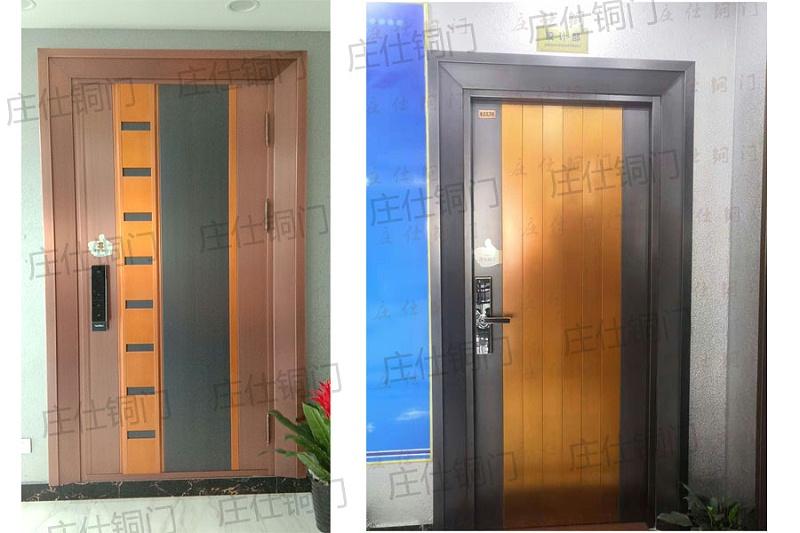 韩式铜门4