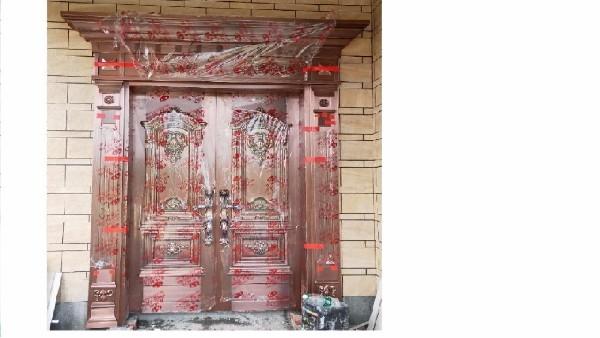 成功的别墅铜门案例