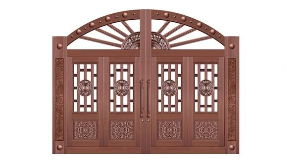 铜门——别墅的灵魂伴侣