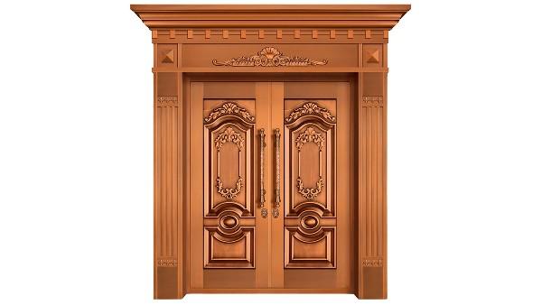 铜门完美格调材质决定质量