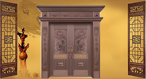 家装,需要惠州庄仕的一樘铜门!