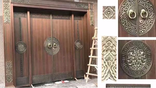 铜门的标准见光尺寸是多少?