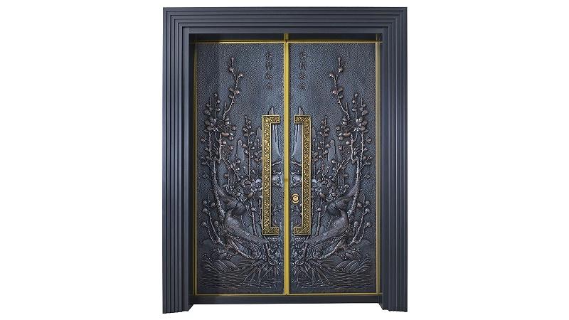 中式别墅铜门