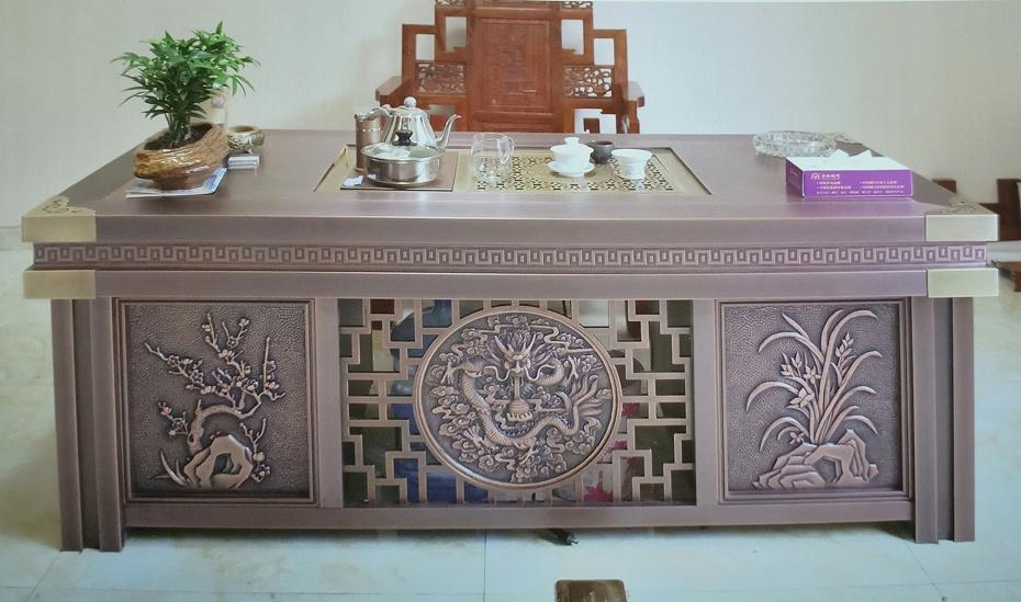 铜茶台-庄仕铜门