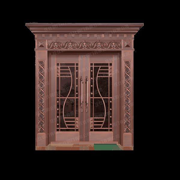 双开铜门2