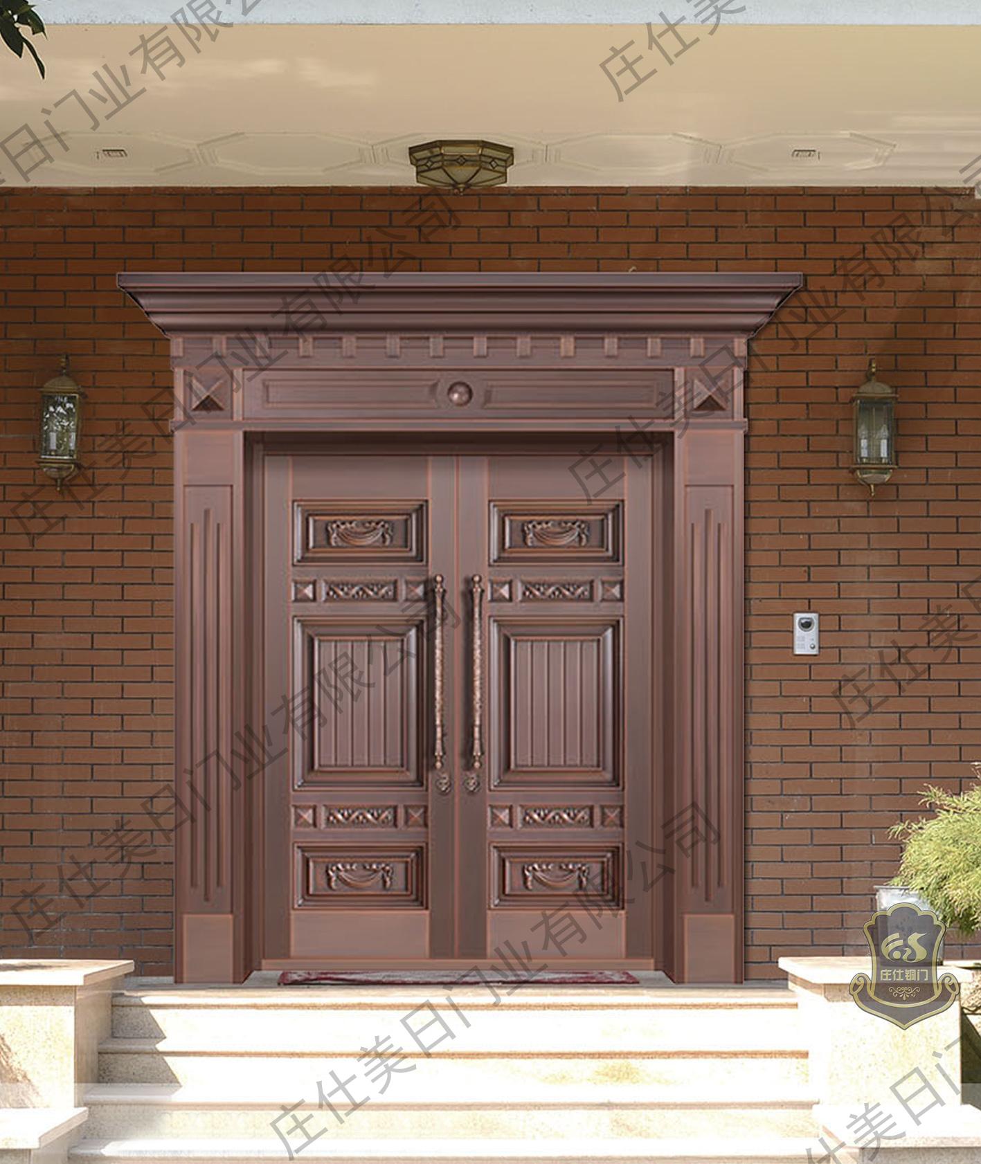 惠州铜门厂家-庄仕铜门