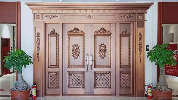 铜门——高贵 典雅 颜值高,不止是一扇门!