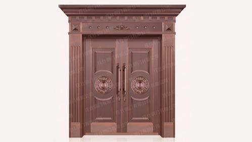 别墅铜门的四大优势
