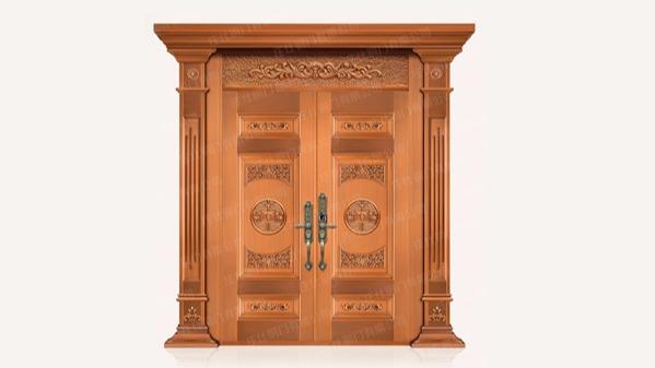 庄仕铜门带您一起辨别铜门的质量