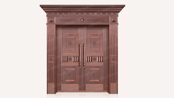 为什么铜门比其他门好 来看庄仕铜门怎么说