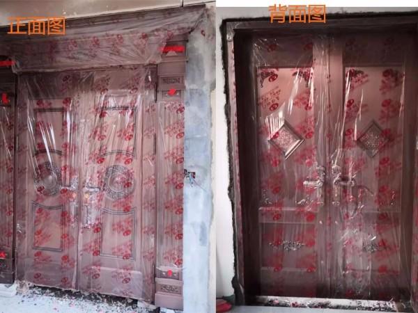惠州铜门成功案例——别墅铜门