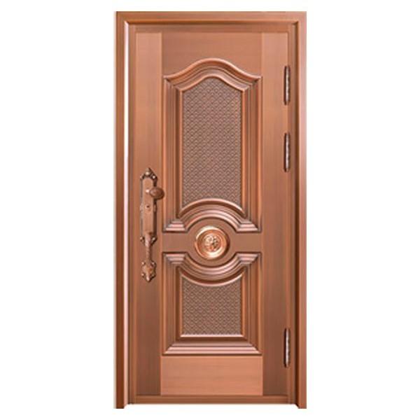 单开铜门ZS-8125