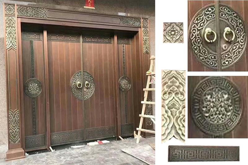 深圳铜门案例