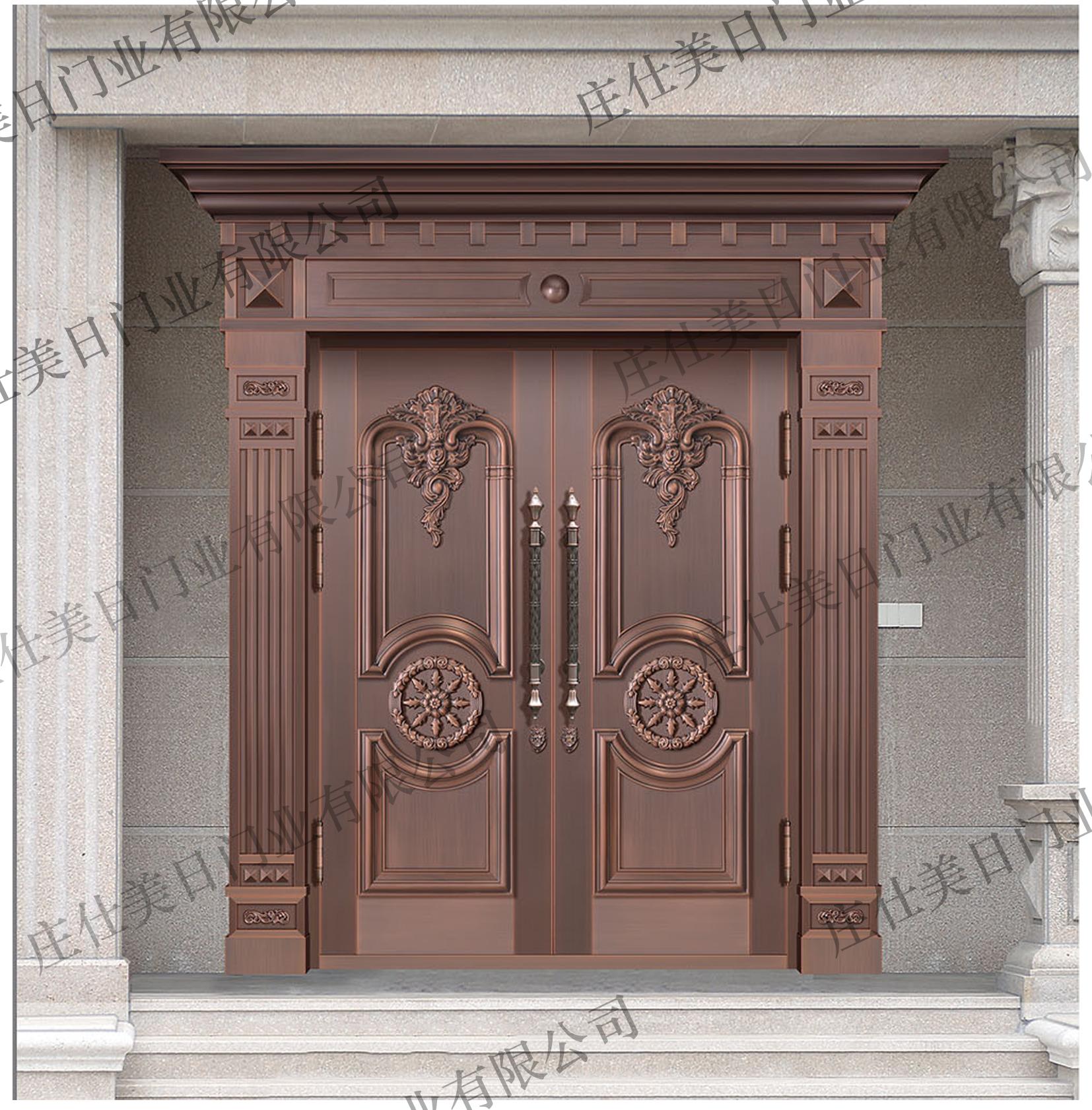 双开别墅铜门