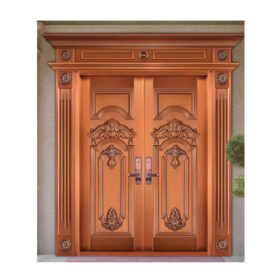 铜别墅大门